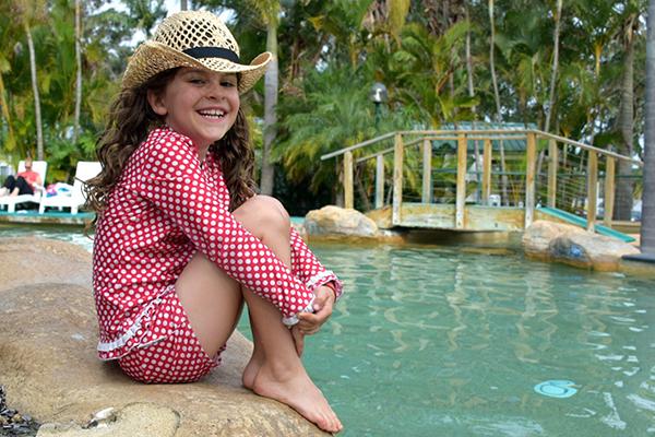 The pool at BIG4 Koala Shores