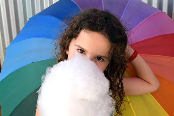 Mackay by Kids: Fairy floss at Sarina Sugar Shed