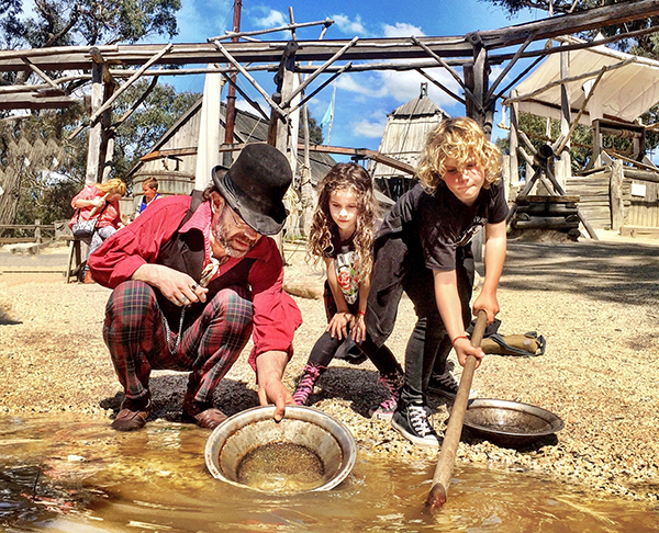 Panning for gold: The Story Lives on at Sovereign Hill
