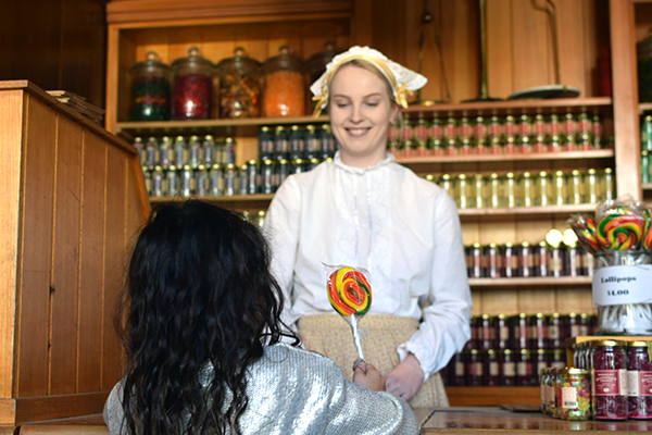 kids in a candy store at Sovereign HIll