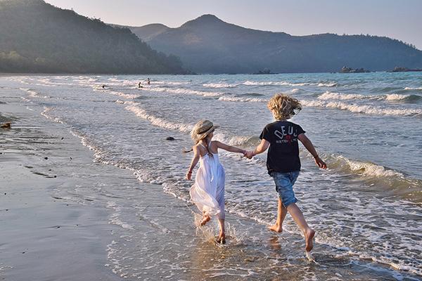 Casuarina Beach Cape Hillsborough: Mackay by kids