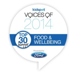 Kidspot Voices of 2014 Top 30 Blogger: Food and Wellbeing