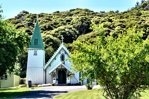Akaroa New Zealand Patrick's Catholic Church