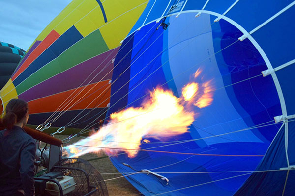Oaks Cypress Lakes Hot Air Ballooning with Kids