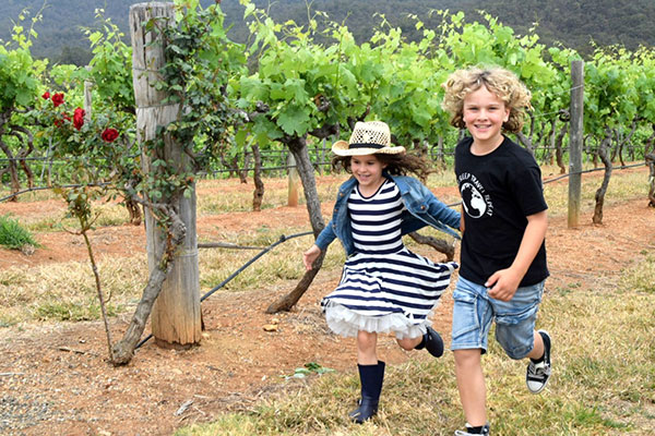The Hunter Valley's Best Kid Friendly Wineries - Audrey Wilkinson