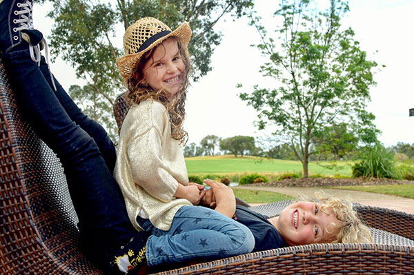 Oaks Cypress Lakes Resort Hunter Valley with kids