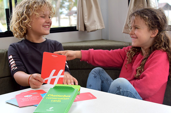 Getting chatty with Holiday Inn's Chatterbox Conversation Cards