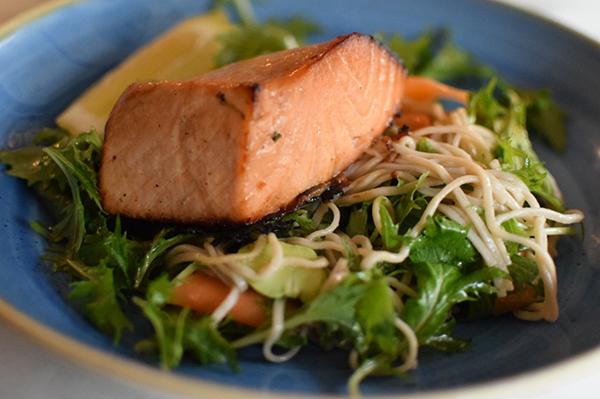 Miso Salmon at Vista Bar at The Buena, Mosman