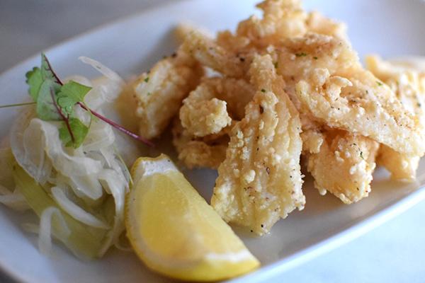Salt & Pepper Squid at Vista Bar at The Buena, Mosman