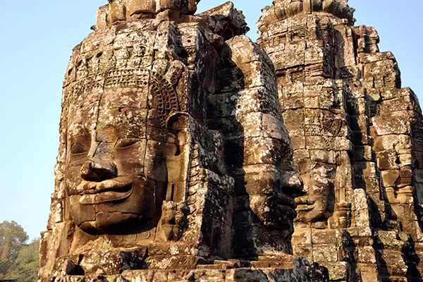 The Bayon at Angkor Thom Siem Reap
