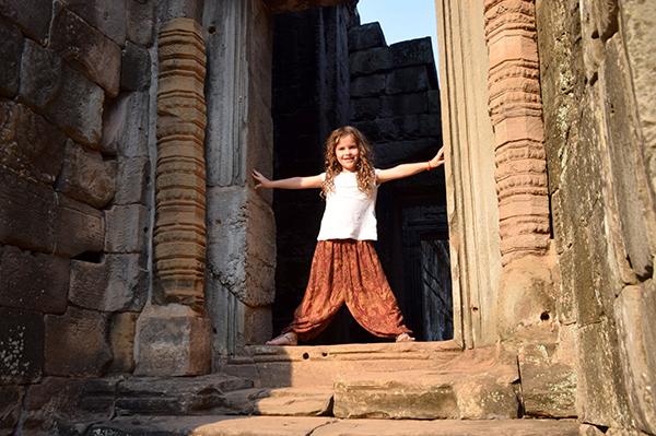 HIde and Seek at Angkor Thom