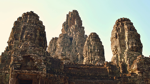 Siem reap with kids: Angkor Thom
