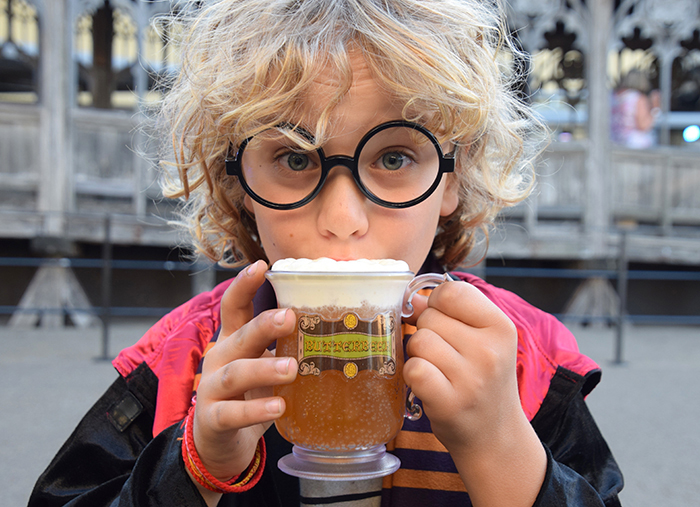 DIY Harry Potter UK tour - butter beer at Warner Bros. Studio Tour London – The Making of Harry Potter
