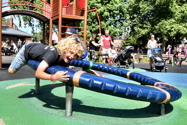 Marlow with kids: Higginson Park Marlow