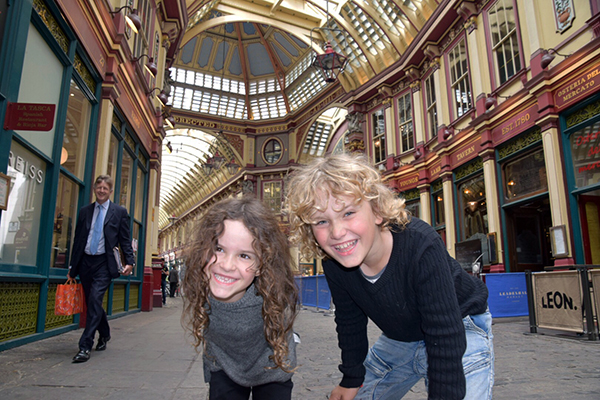 Harry Potter UK tour: Leadenhall Market