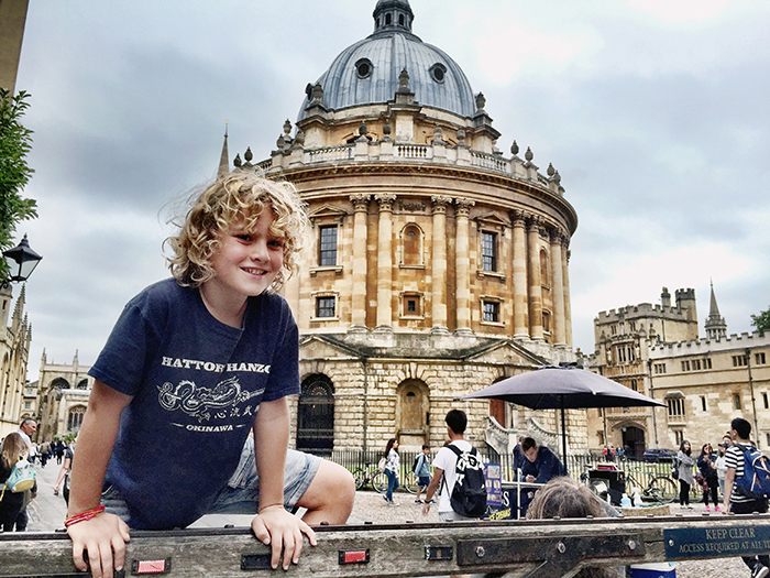 Hunting for Harry Potter: the Bodleian Library Oxford