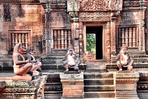 SIem Reap by Kids: Amazing Bantey Srei in Siem Reap Cambodia