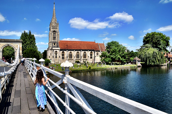 Marlow Bridge Buckinghamshire