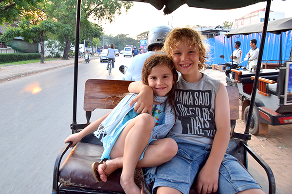 Siem Reap by Kids: Tuk tuks are the best way to get around