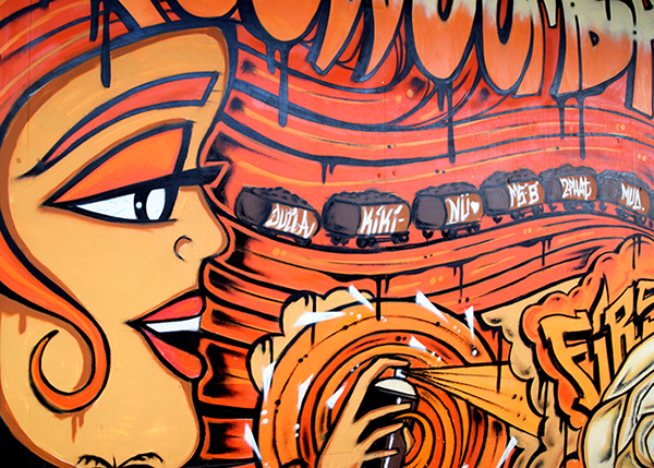 things to do in Toowoomba with kids - street art trail