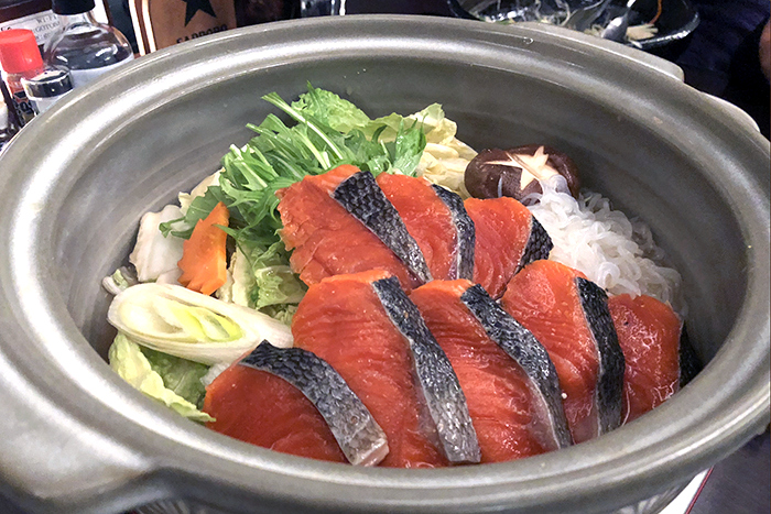 Ishikari Nabe (Salmon Hot Pot )