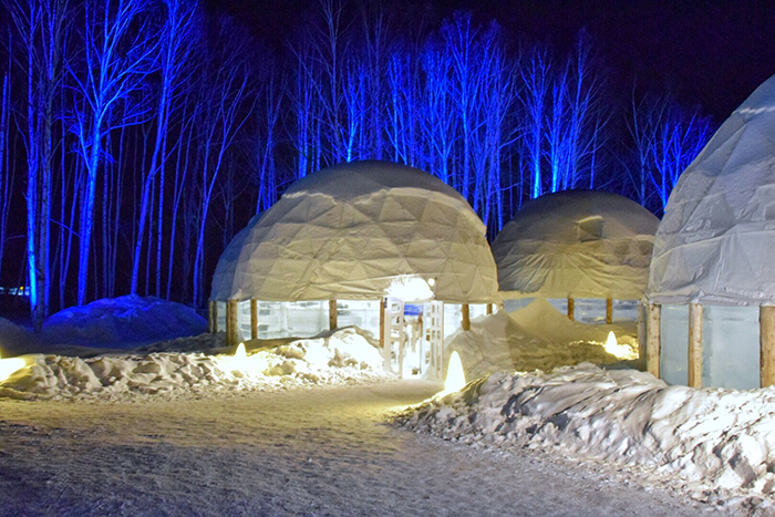 Hoshino Resorts Tomamu Ice Village