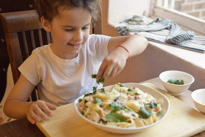 top tips for making family mealtimes: Cook together
