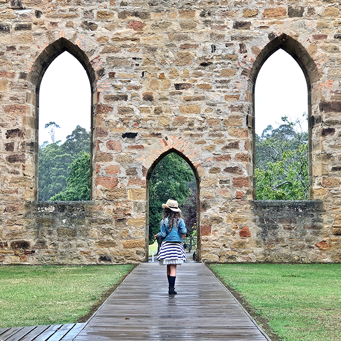 Port Arthur with kids