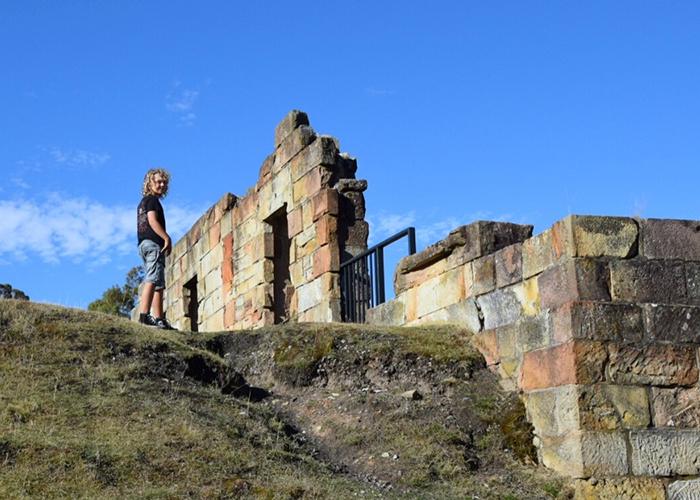 exploring The Coal Mines Historic Site: Tasman Peninsula with Kids