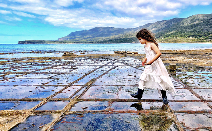 The best of Tasman Peninsula by kids Tessellated Pavement