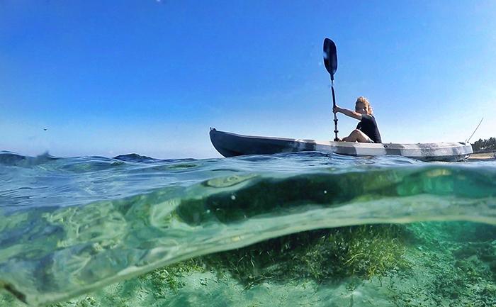 Kayaking in Bali