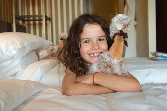 Emu love at Park Hyatt Sydney with Kids