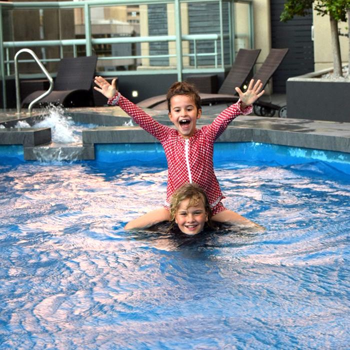Novotel Sydney Central rooftop pool