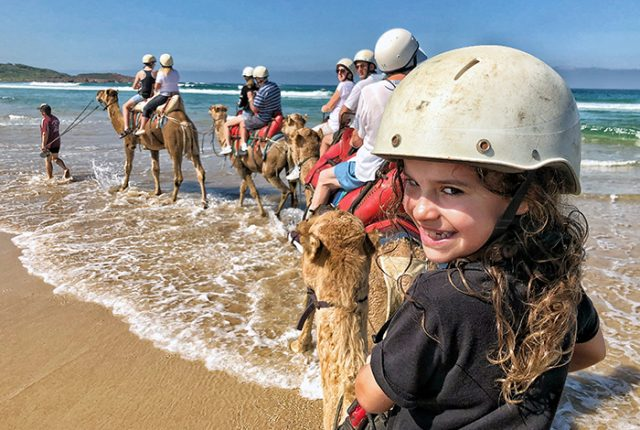 Camel Riding at Anna Bay: Port Stephens with kids
