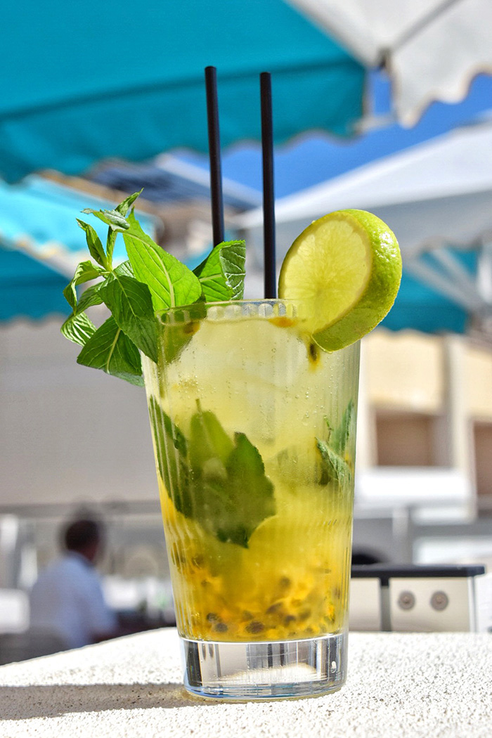 Shoal bay Country Club Passionfruit Mojito