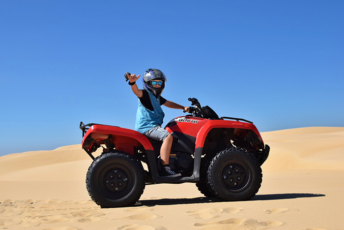 Sand Dune Adventures: Port Stephens with kids