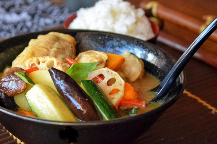 Hokkaido style Soup Curry