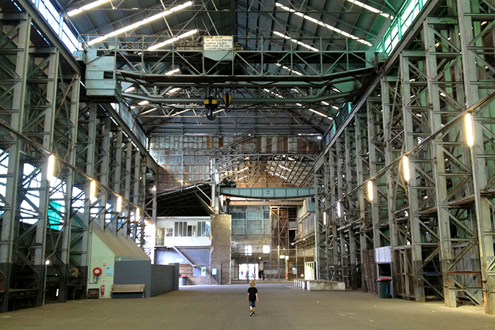 Increidble industrial architecture of Cockatoo Island