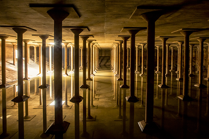 Buffalo Bayou Park Cistern. Photo by Katya Horner