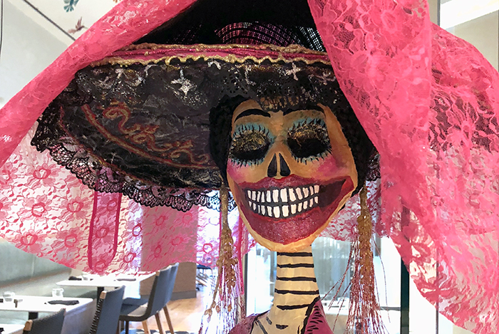 First IMpressions of HOuston and Xochi: Sugar Skull at Xochi Houston