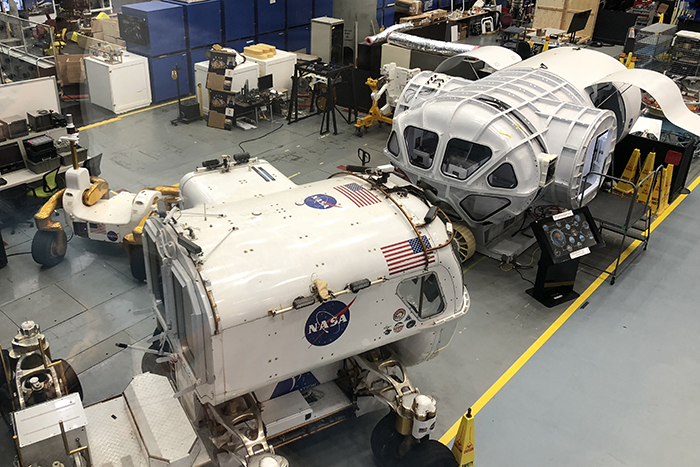 Space Vehicle Mockup Facility NASA Houston