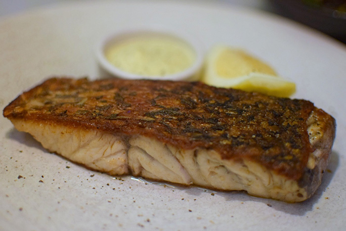 Barramundi at Love Fish Barangaroo