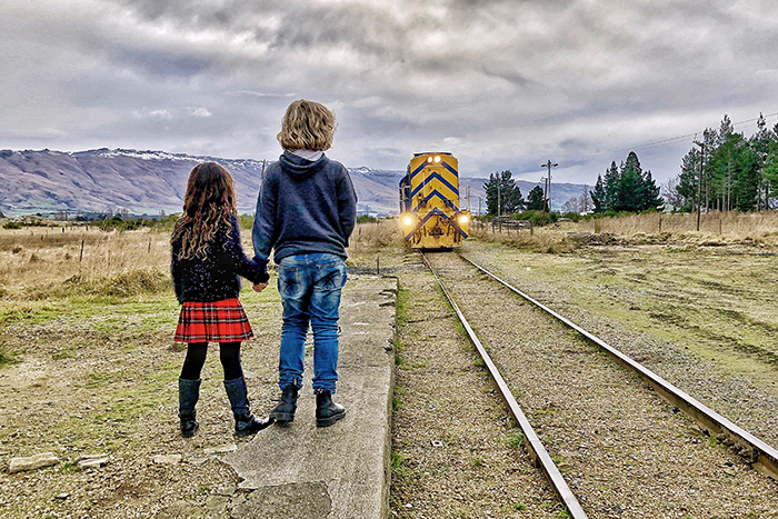 Dunedin's Taieri Gorge Railway with kids