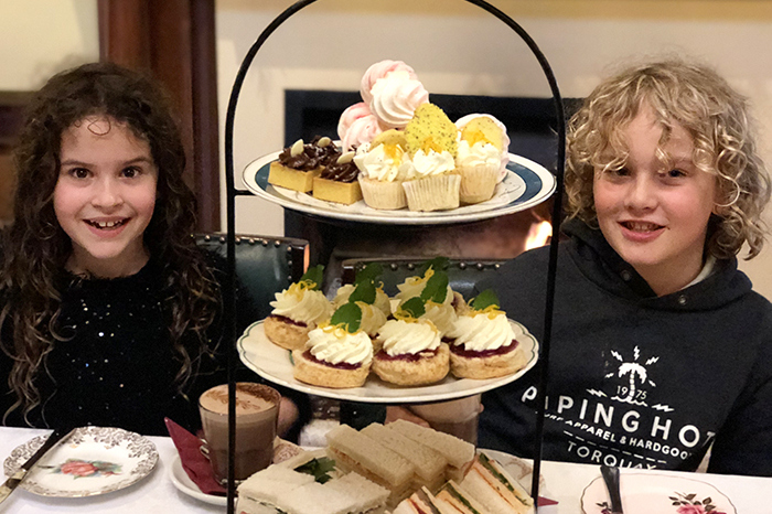 HIgh Tea at Lanarch Castle Dunedin