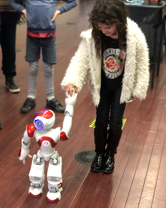Walking Nao at NZ International Science Festival