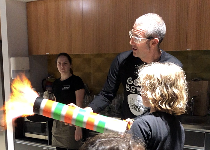 Explosive fun at New Zealand International Science Festival