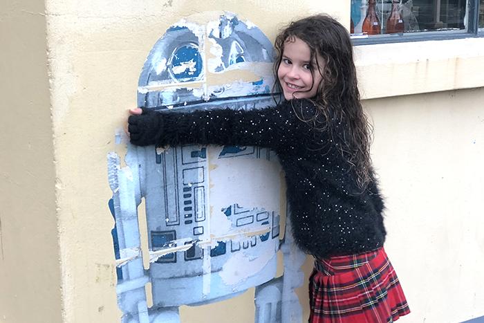 R2-D2- Street Art Dunedin