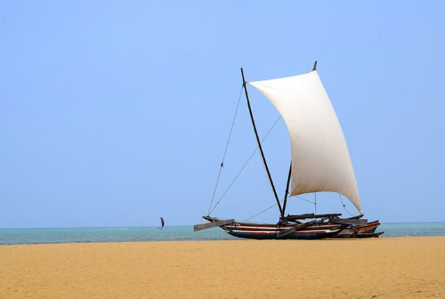 The beach at Hotel Jetwing Beach Negombo