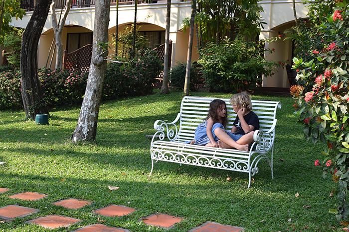 Sofitel Angkor Phokeethra Golf & Spa Resort with kids