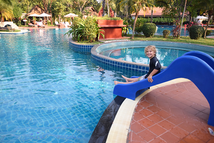 Sofitel Angkor Phokeethra Golf & Spa Resort with kids lagoon pool
